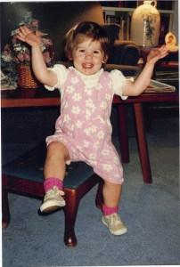 Molly as Toddler