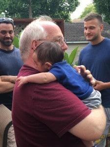 Connor and Granddad